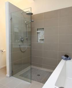 European modern bathroom