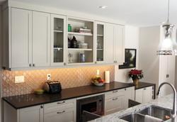 fresh, clean kitchen space