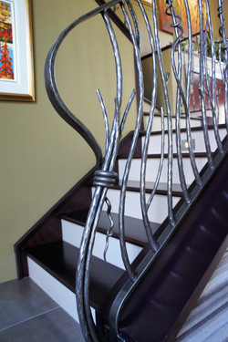 staircase spindles create impact