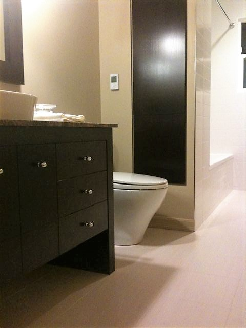 sophisticated master ensuite