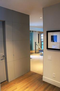 subtle panels in walls