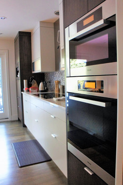clean lines give kitchen appeal