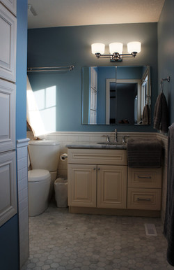 classic powder room