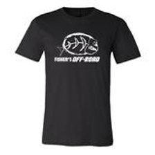 Fisher's Off-Road White Logo T-Shirt - 3XL & 4XL