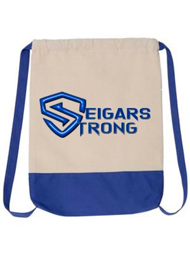 SEIGARS STRONG- DRAWSTRING BAG