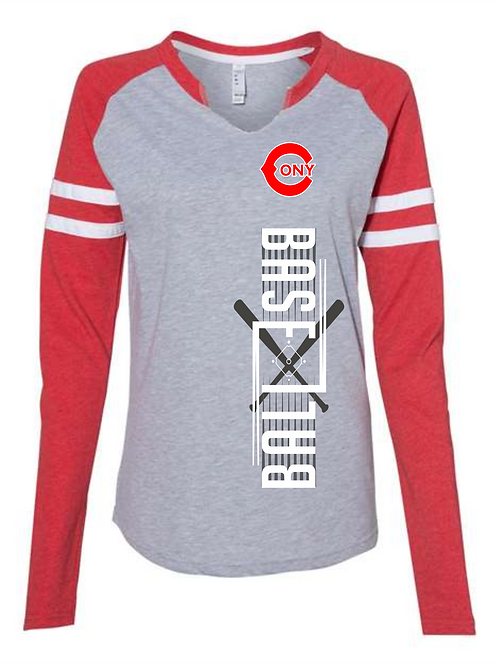 Varsity Style Long Sleeve T-Shirts! For Him & Her