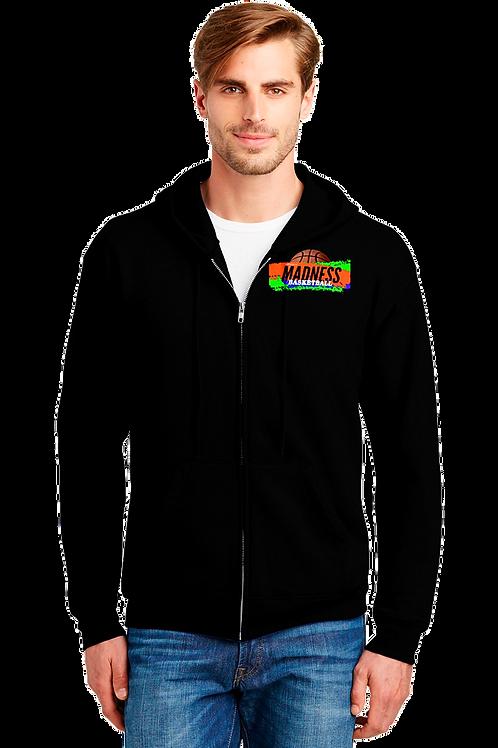 Full Zip Hoody Sweatshirt-Cotton/Pol