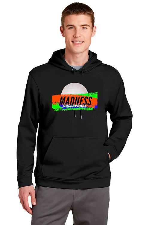 Unisex pull over Hooded Sweatshirt- PERFORMANCE