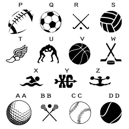 ADDITIONAL SPORTS ICONS