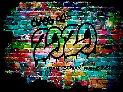 Senior 2020- Graffiti Print
