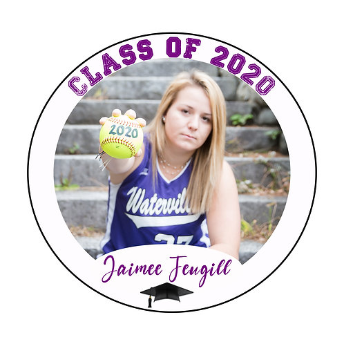 Static Cling 2020 Graduation Decal