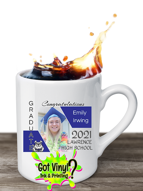 15oz 2021 Senior Commemorative Ceramic Mug