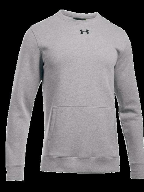 UA Crew neck sweatshirt with kangaroo pocket