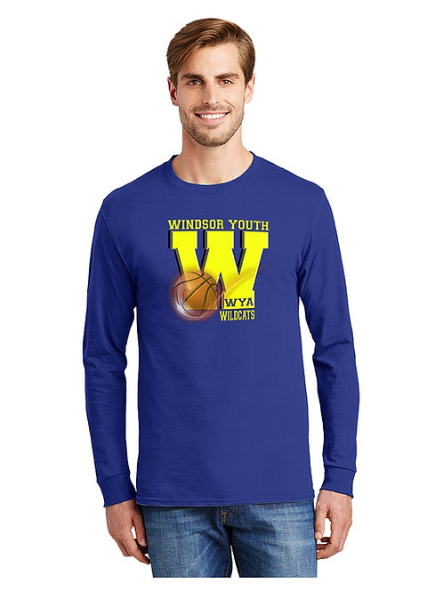 WINDSOR BASKETBALL LONG SLEEVE T-SHIRT