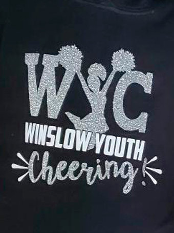 WINSLOW YOUTH CHEER HOODY WITH GLITTER!!!
