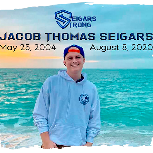 Jacob Seigars Strong Memorial Decals