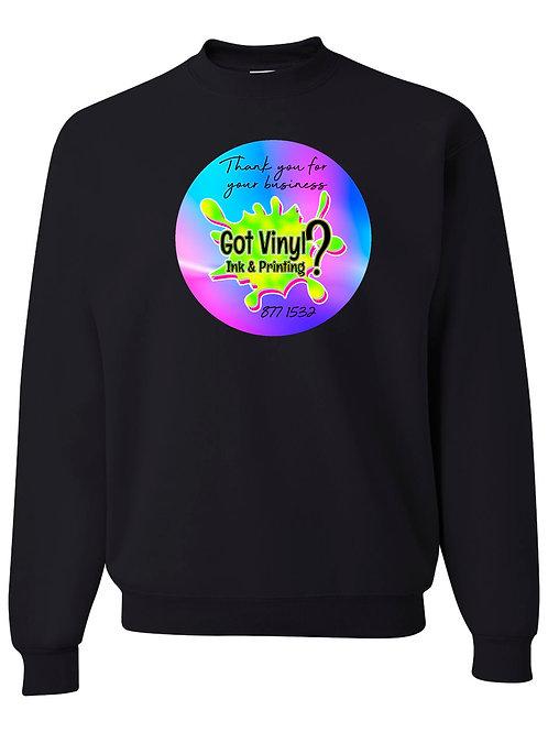 Crew Sweatshirt Apparel Ordering