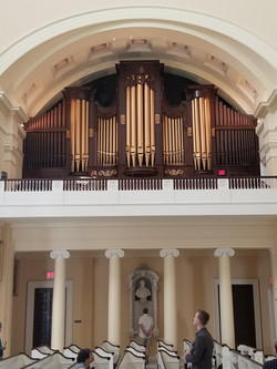 Basilica organ loft