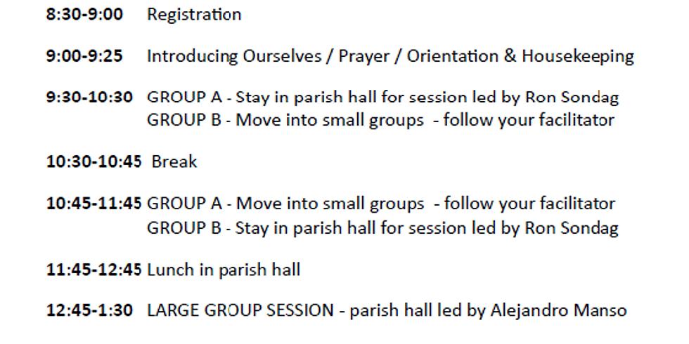 REGISTRATION for MIND, BODY, AND SPIRIT CANTOR WORKSHOP