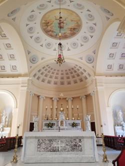 Basilica sanctuary