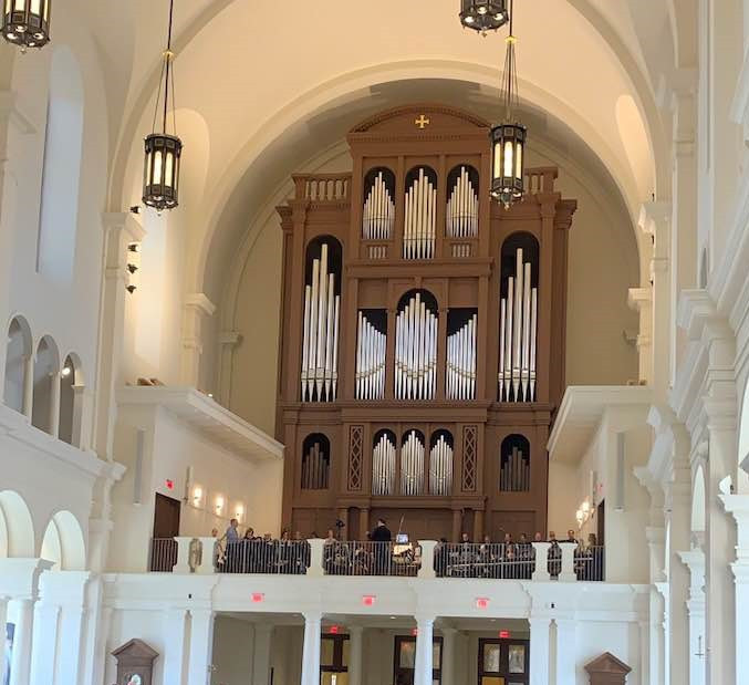Fisk Op. 147 pipe organ at Raleigh's Cathedral of The Holy Name of Jesus