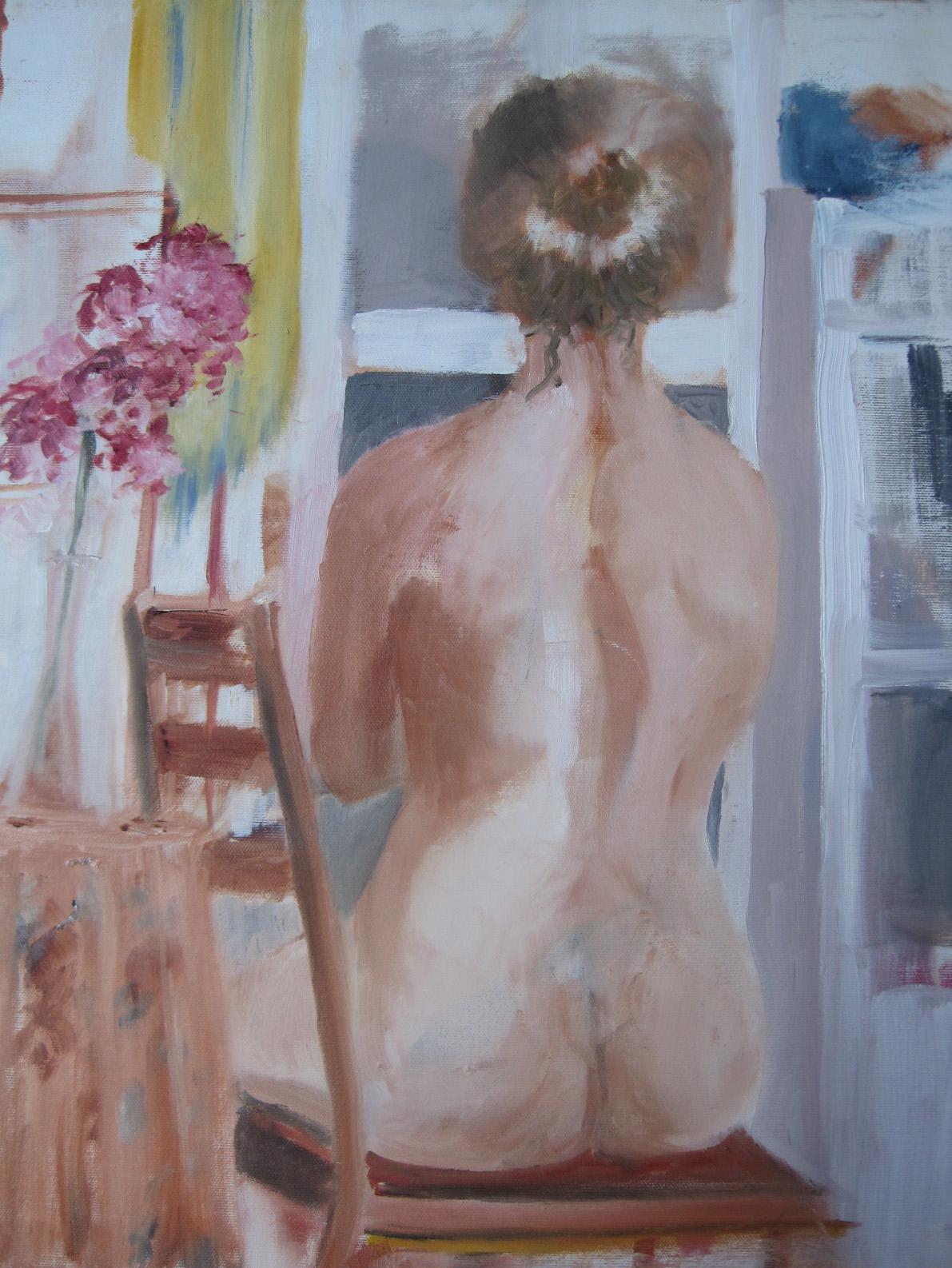 Figure on Chair