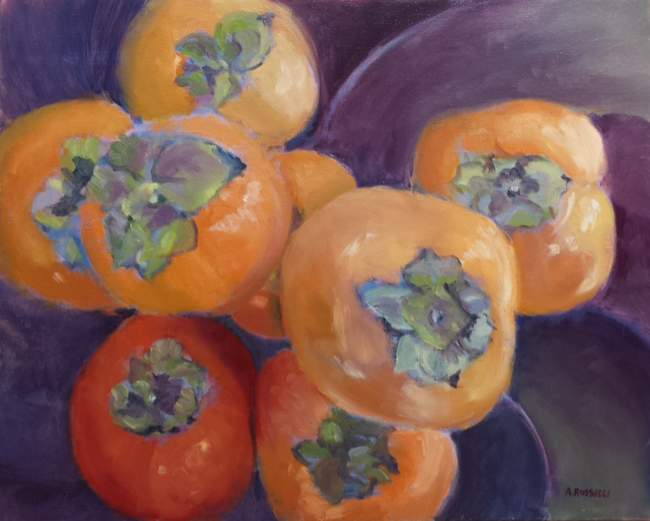 Eight Persimmons