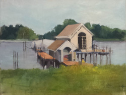 Boat Dock on the Miles River