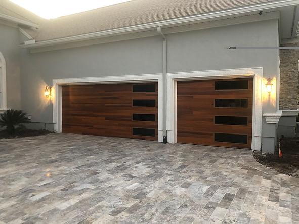 C.H.I. Accent Plank Garage Doors