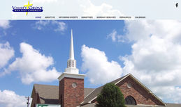 Valley Grove Baptist Church Custom Informational Web Site