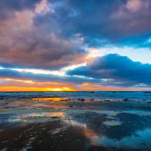 Sunset in Del Mar, CA