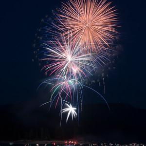 July 4th at Shaver Lake, CA