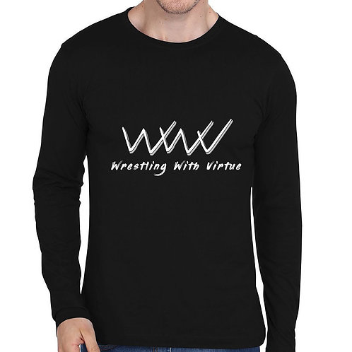 WRESTLING WITH VIRTUE INAUGURAL SHIRT LONG SLEEVE
