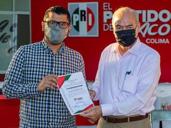 Nombran a Luis Alberto Vuelvas como nuevo Secretario de Acción Electoral PRI estatal