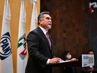 Seremos leales con los compromisos que hicimos en campaña: Alejandro Moreno