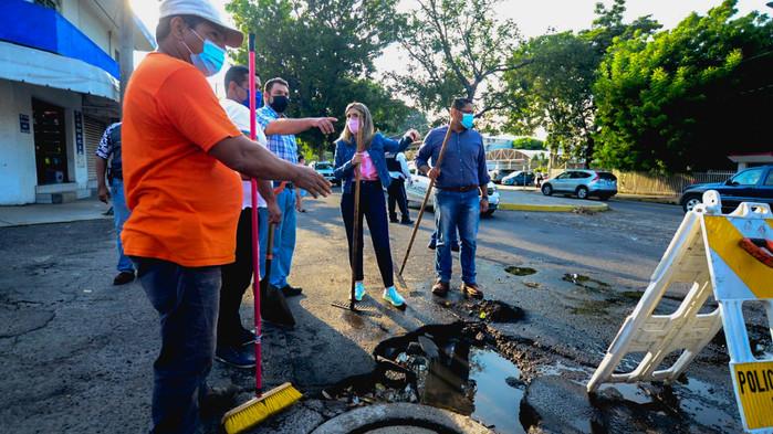 """Inicia Margarita reparaciones de """"megabaches"""" en la capital"""