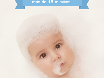 Aquí te damos 5 tips para que no sufras con los primeros baños de tu bebé