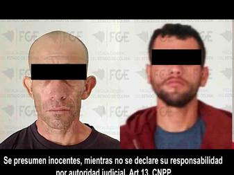 Detienen a presuntos responsables de asesinar a un joven y herir a su padre en Coalatilla, Armería