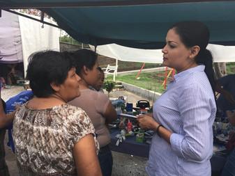 Buscará Vianey Chapula se aumente el presupuesto de La Villa