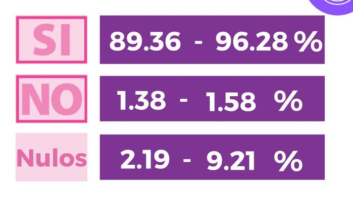 """La participación ciudadana en la """"Consulta Popular"""" fue entre el 7.07% y 7.74%: INE"""