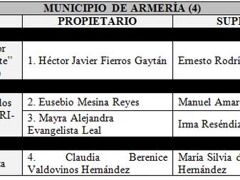 IEE Colima asignación de regidurías de representación proporcional en los diez Ayuntamientos