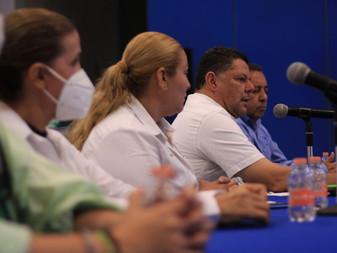 Adelanta Virgilio Mendoza que será parte de la solución de los problemas del puerto logístico