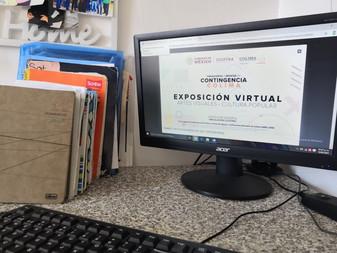 Exhiben de manera virtual exposición de arte visual