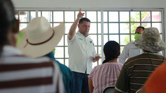 El proyecto Verde es el único que puede devolver el apoyo de la gente: Virgilio Mendoza