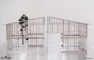 """""""Monica Bonvicini presenta su exposición StageCage en la Galería Krinzinger de Viena"""""""