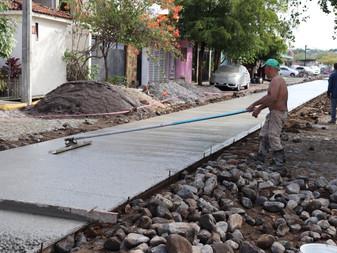 Arranca Felipe Cruz 17 nuevas obras de vialidad, luminarias led, banquetas y puentes