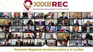 Se reúnen embajadores y cónsules de México en Asia Pacífico en la REC2021