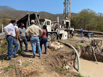 La visión municipal ha sido resolver los problemas de suministro de agua de Tecomán: Elías Lozano