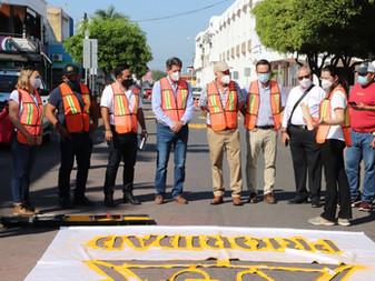 Inicia Ayuntamiento de Tecomán Programa de Prioridad Ciclista