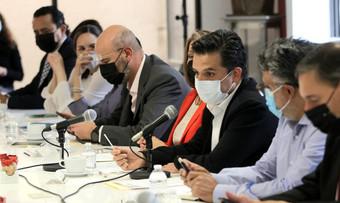 Se realiza en Gobernación mesa de diálogo con Alianza de Jubilados del IMSS